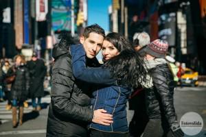 Demande en mariage à New-York
