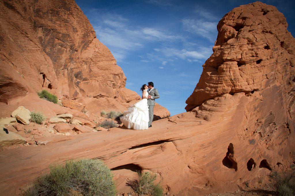 Mariage dans le Desert du Nevada