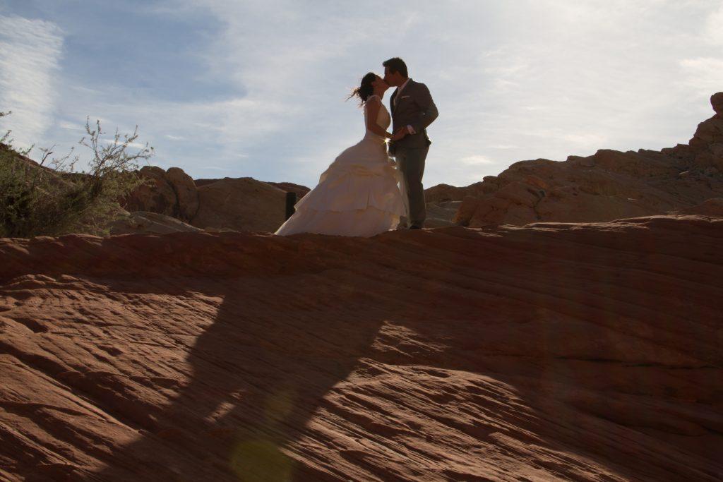 Mariage dans le désert du Nevada