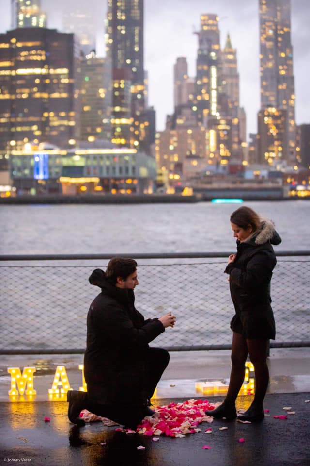 Mariage à New York